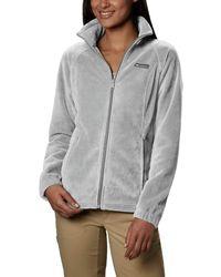 Columbia Benton Springs Full Zip Jacket - Gray