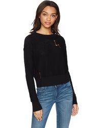 n:PHILANTHROPY Deconstructed Sweater - Black
