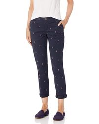 Tommy Hilfiger Relaxed Fit Hampton Chino Pant - Blue