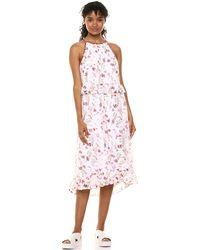 Kensie Keepsake Floral Dress - White