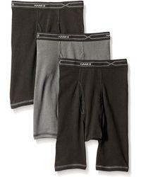 Hanes 3-pack X-temp Comfort Cool Long Leg Boxer Brief - Multicolor