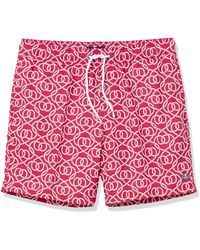 """Sperry Top-Sider 7"""" Classic Swim Trunks - Red"""