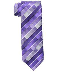 Geoffrey Beene New Rafalla Tie - Purple