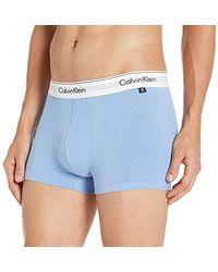 Calvin Klein - Underwear Modern Cotton Stretch 2 Pack Trunks - Lyst