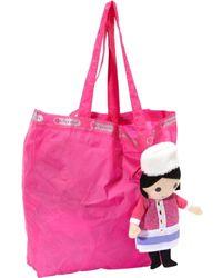 LeSportsac Izabella Doll Tote - Pink