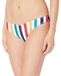 Volcom - Draw The Line V Bikini Bottom - Lyst