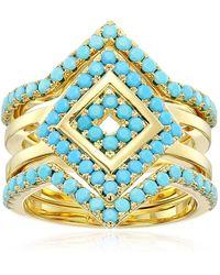 Noir Jewelry Salt Water Ring - Multicolor