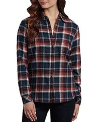 f33a239af48 Lyst - Dickies Plus-size Long-sleeve Plaid Flannel Shirt in Red