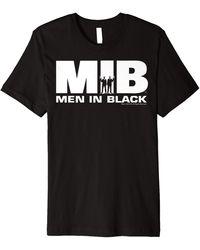 Perry Ellis In Black Logo Silhouette Premium T-shirt - Blue