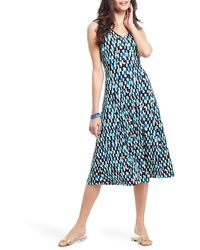 NIC+ZOE Riviera Rain Dress - Blue
