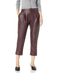 Catherine Malandrino Landon Pants-leather - Multicolor