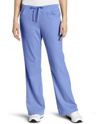 Carhartt Scrubs Workflex 3 Pocket Flare Leg Pant - Blue