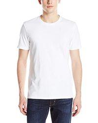 AG Jeans Cliff Crew-neck T-shirt In True White