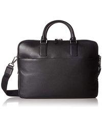 Ecco Jos Laptop Bag 15 Inch Briefcase - Black