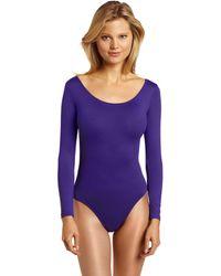 Danskin Long-sleeve Leotard - Purple