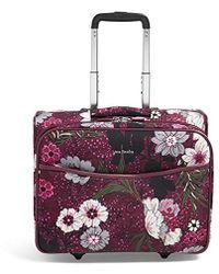 78f795de4a Lyst - Vera Bradley Iconic Rolling Work Bag