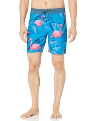 Rip Curl Mirage Jungles Boardshorts - Blue