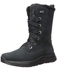 Timberland Mabel Town Waterproof Mid Lace Snow Boot - Black