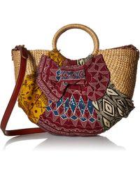 Sam Edelman Jaelynn Convertible Top Handle Bag - Multicolor