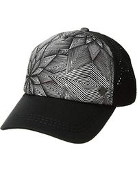 ce788d412d381 Lyst - Roxy Junior s Dig This Trucker Hat in Black for Men