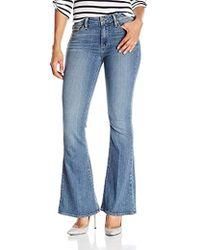 PAIGE - Petite Size High Rise Bell Canyon Jeans-ellington - Lyst