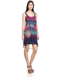 Desigual - Magic Woven Dress Straps - Lyst