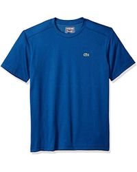 Lacoste - Short Sleeve Technical Jersey T-shirt, Th7618, - Lyst