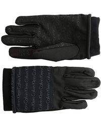 Calvin Klein - Touchscreen Gloves - Lyst
