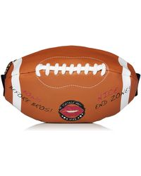 Betsey Johnson Football Fanny Pack - Brown