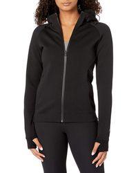 Core 10 - Motion Tech Fleece Fitted Full-zip Hoodie Jacket - Lyst