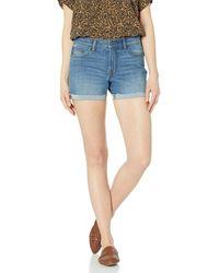 Goodthreads Denim Turn-Cuff shorts - Blau