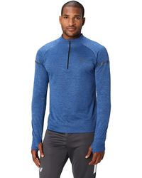 Peak Velocity Thermal Waffle 'build Your Own' Athletic-fit Run - Blue