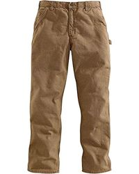 Carhartt Washed Duck Work Dungaree Pant - Multicolor