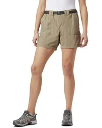 Columbia Sandy River Cargo Short Shorts - Green