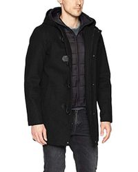 Guess - Hooded Toggle Jacket - Lyst