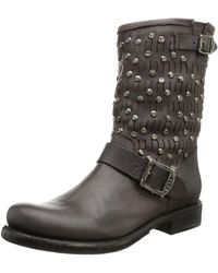Frye Jenna Cut Stud Short Boot - Multicolor