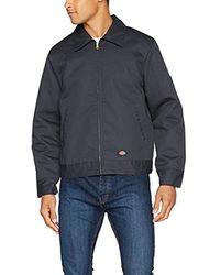 Dickies Big-tall Lined Eisenhower Jacket - Multicolor