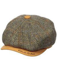 Robert Graham Headwear Royal Oaknewsboy - Multicolor