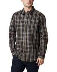 Columbia Vapor Ridge III Long Sleeve Shirt Hemd - Schwarz