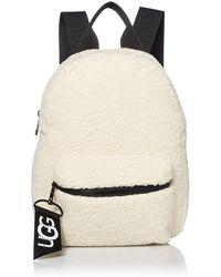 UGG Dannie Mini Backpack Faux Fur - Natural
