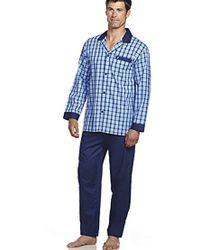 Jockey - Woven Long Sleeve Pajama Set - Lyst