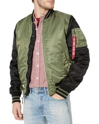 Alpha Industries Ma-1 Flight Jacket - Multicolor