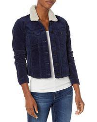 William Rast Womens Farrah Denim Jean Jacket - Blue