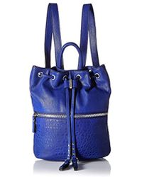French Connection - Mara Backpack, Monarch Blue - Lyst