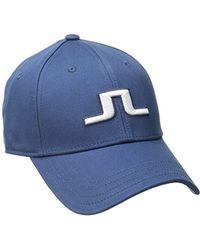 J.Lindeberg Banji Flexi Twill Cap - Blue