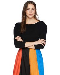 Mara Hoffman Helena Quarter Sleeve Sweater - Black