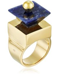 """Noir Jewelry """"memphis"""" Topsy Statement Ring - Multicolor"""