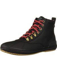 Keds - Scout Boot Ii Matte Twill Wx Rain, Black, 7.5 Medium Us - Lyst