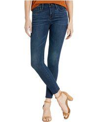 Sam Edelman Kitten Mid Rise Ankle Jean - Blue