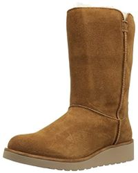 UGG - Classic Slim Short Winter Boot - Lyst